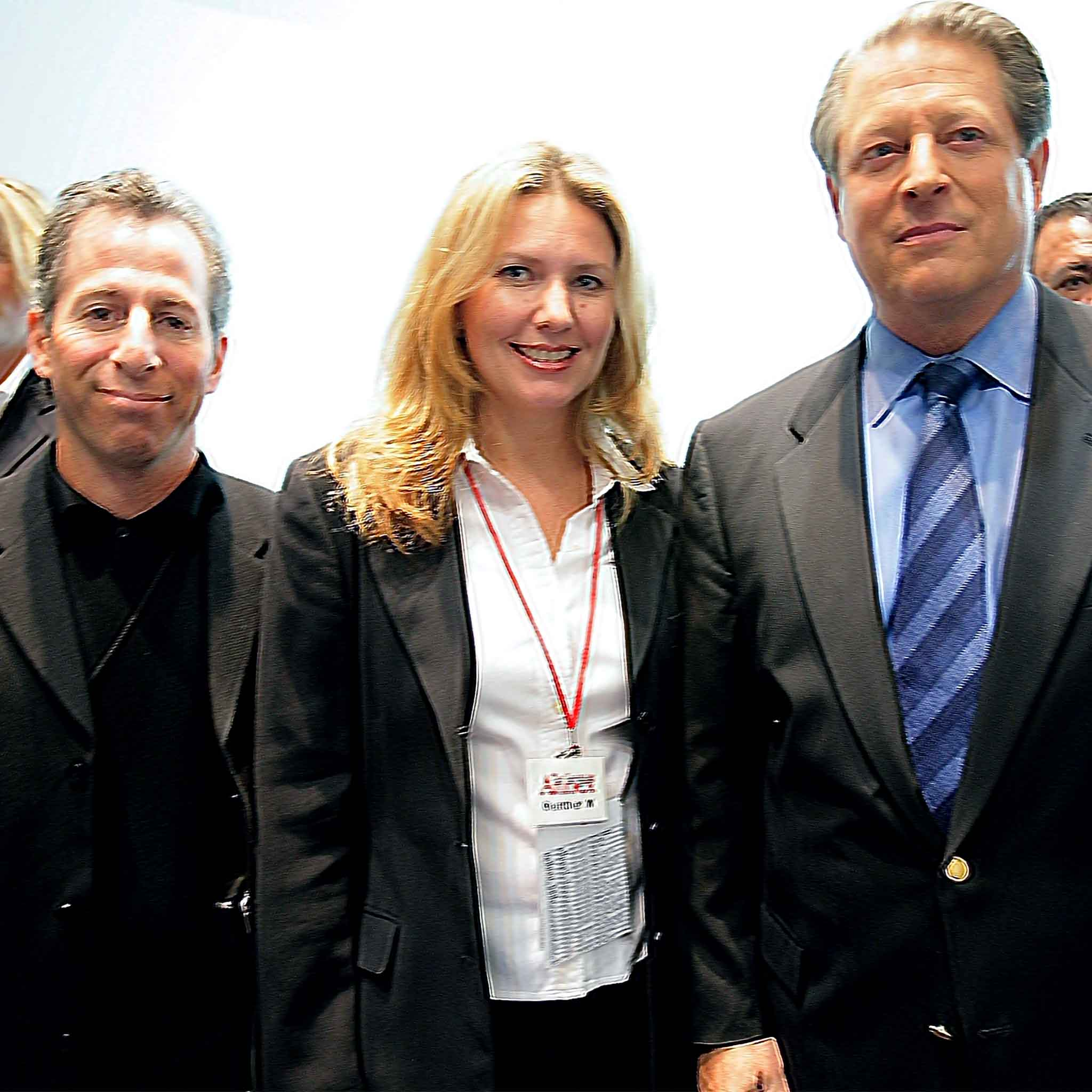 Harry and Al Gore and Heather Moore